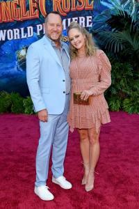 Beau Flynn and Marley Shelton - World Premiere Of Disney's Jungle Cruise