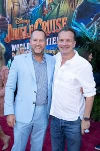 Beau Flynn and Sean Bailey - World Premiere of Jungle Cruise