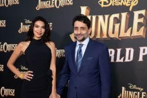 Diba Adami, Jaume Collet-Serra - World Premiere of Jungle Cruise