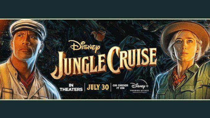 Jungle Cruise - banner - Pontik - Cine