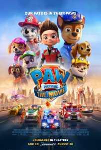 PAW Patrol The movie poster