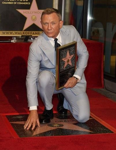 Daniel Craig - Paseo de la Fama de Hollywood 1