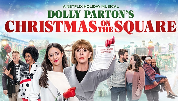 Dolly Parton's Christmas on the Square - Premios Emmy 2021 - Pontik®