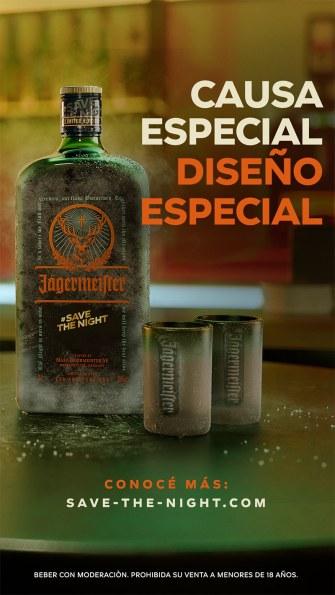 Salvar la noche - SaveTheNight - Jägermeister - Edición Limitada - afiche 2