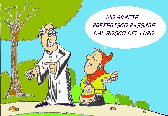 Risultati immagini per vignette divertenti sui preti