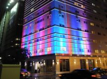 Hotel Facade Lighting