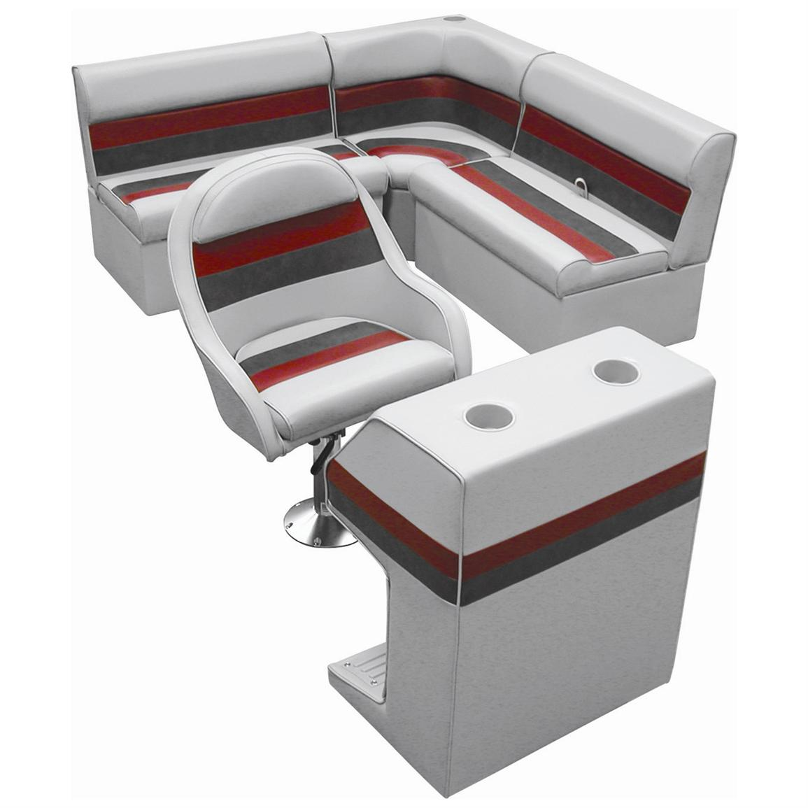 fishing pontoon chair covers for dining room boat seats