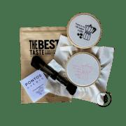 Kit para Bordado Livre Café Pontos da Cris