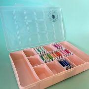 caixa plastico para linhas