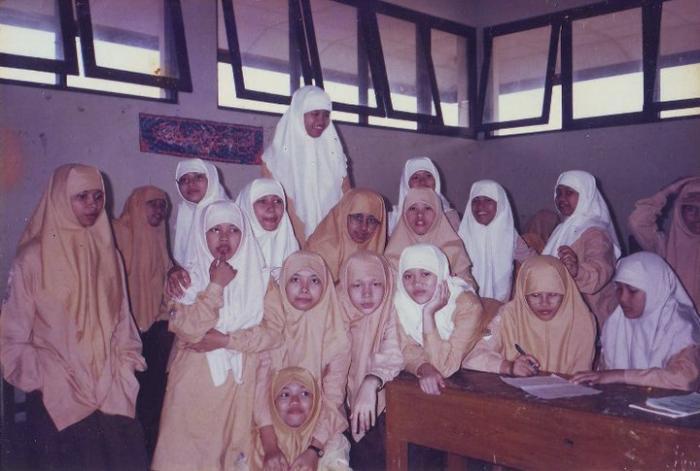 santri di kelas