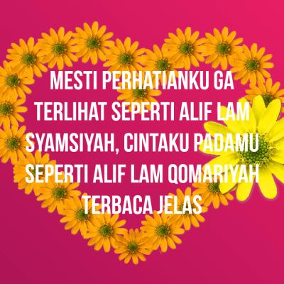 cinta alif lam syamsiyah qomariyah