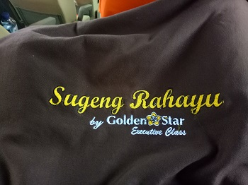 selimut coklat sugeng rahayu exclusive class