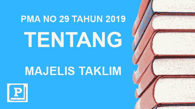 PMA-NO-29-TAHUN-2019