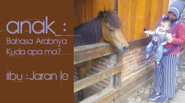 bahasa arabnya kuda