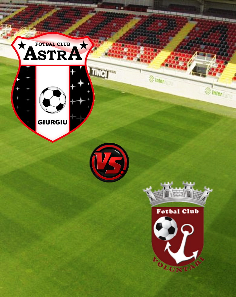 FC Voluntari vs Astra Giurgiu