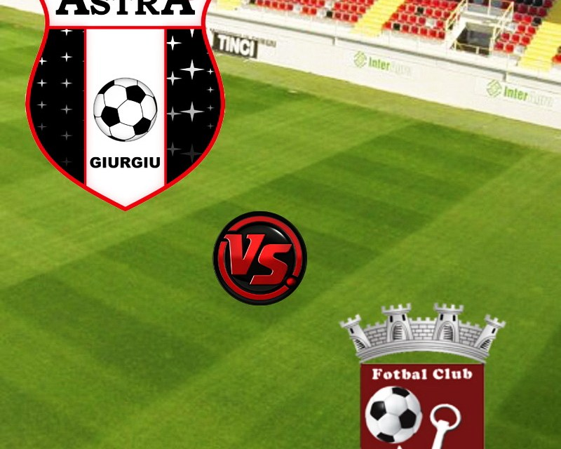 Ponturi pariuri – FC Voluntari vs Astra Giurgiu – Liga 1