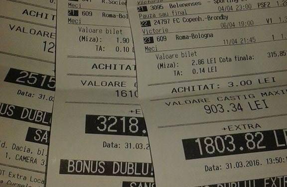Bilete Pariuri : Madalin incearca 3 bilete bonus dublu !