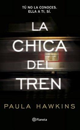 libros recomendados de paula hawkins chica del tren portada
