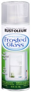 Rust-Oleum Frosted Glass Spray