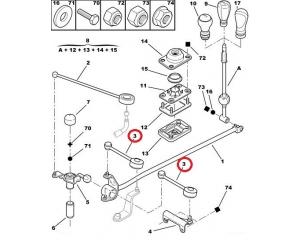 Gear linkage rods @ Hmk Auto
