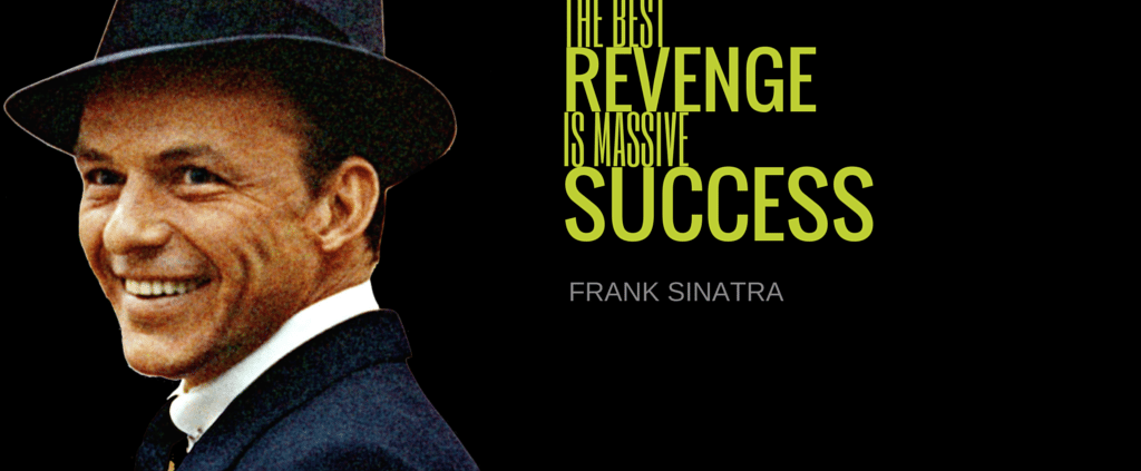 Poodle Mafia Marketing Branding PR for Startups Movements and Personalities - Frank Sinatra Quote