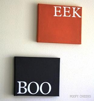 BOO and EEK Art