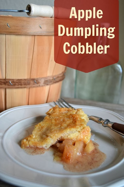 Apple Dumpking Cobbler recipe for an amazing fall dessert.