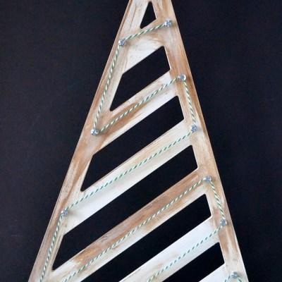 DIY Twine Art Chistmas Tree