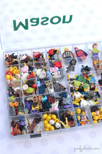 Personalized Small Toy Storage