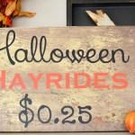 10+ DIY Halloween Signs