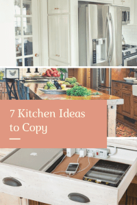 7 Kitchen Ideas to Copy in your own kitchen.