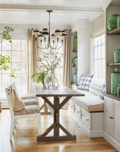Farmhouse Dining Table – First Vote for The House that Votes Built