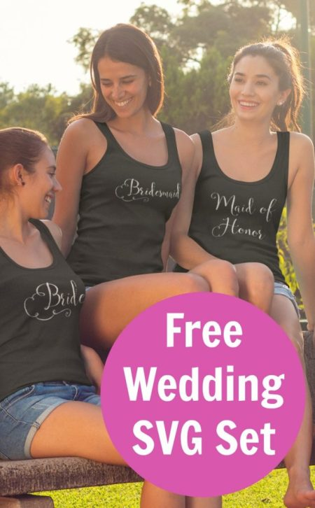 Wedding Party SVG Cut Files