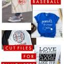 15 Creative Free Baseball Cut files for Silhouette and Cricut