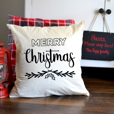 Merry Christmas Cut File – Flash Freebie- SVG, DXF and PNG for Silhouette and Cricut