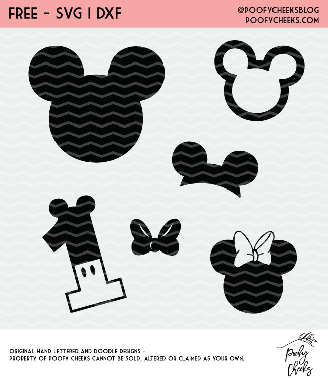 Download Disney Inspired Cut Files for Silhouette and Cricut - SVG ...