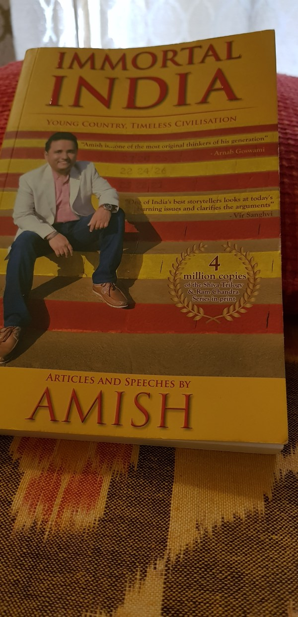 Immortal India by Amish Tripathi