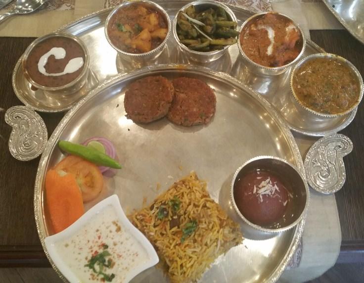 Banarasi thali - non-vegetarian