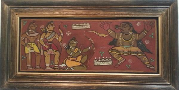 Rāmāyana - Jamini Roy painting