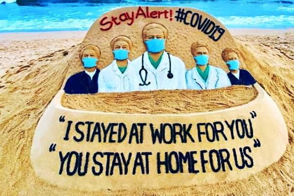 Covid lockdown human angle stay at home