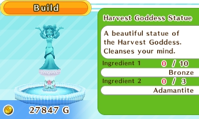 Harvest Goddess - Harvest Moon Skytree Village