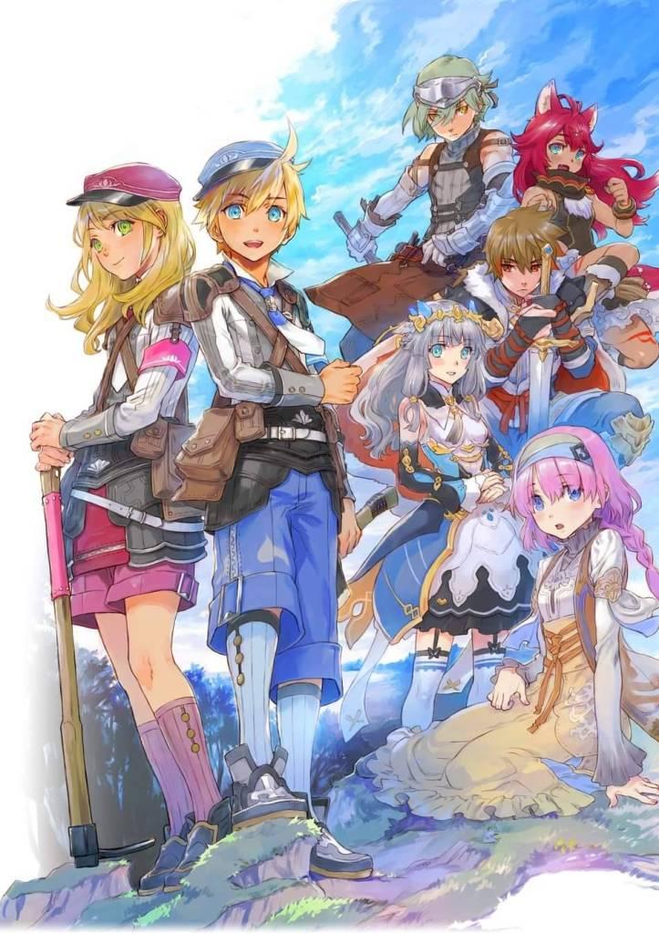 Rune Factory 5 Poster