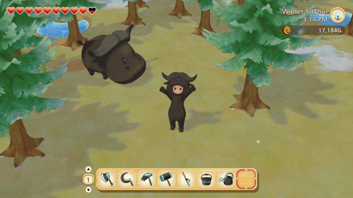 Buffalo Costume DLC - Pioneers of Olive Town
