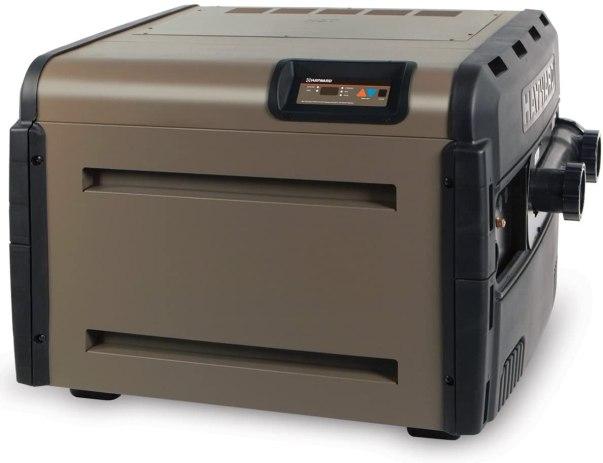 Hayward H400FDN Universal H-Series 400,000 BTU Pool and Spa Heater, Natural Gas, Low Nox