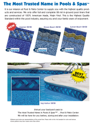 Liner Replacements - Pool & Patio Center