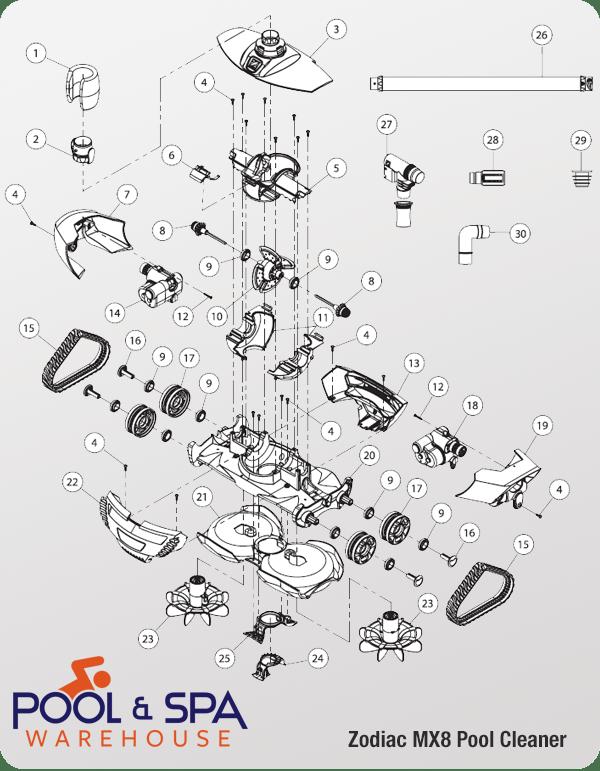 Baracuda Mx8 Replacement Parts Reviewmotors Co