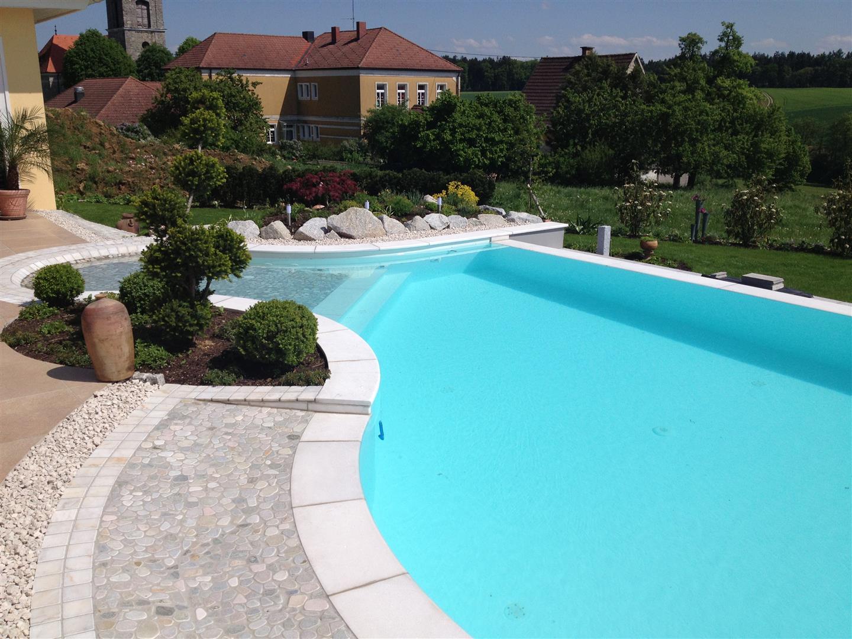 Gestaltung Rund Um Den Pool Whirlpool Fur Garten