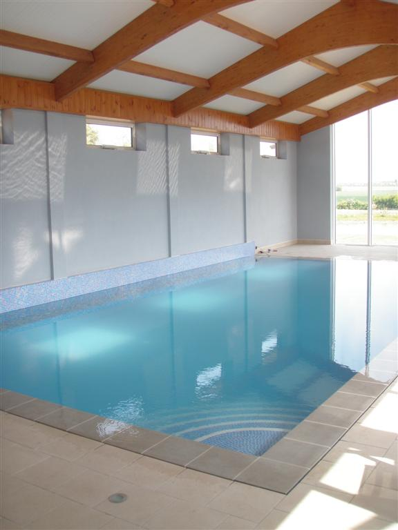 Indoor Insulated Overflow Pool Cambridgeshire  Brookforge Swimming Pool Build