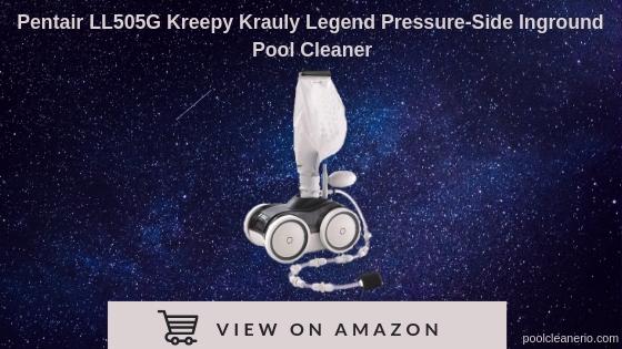 Pentair LL505g kreepy krauly legend pressure side in-ground pool cleaner