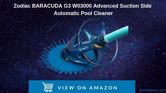 Zodiac BARACUDA G3 W03000 advanced suction side automatic pool cleaner